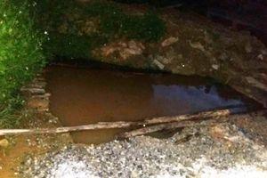 Thủy Nguyên - Hải Phòng: Nhà thầu làm việc cẩu thả, cháu bé 4 tuổi chết đuối thương tâm