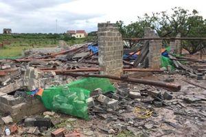 Nhiều thiệt hại sau cơn bão số 4