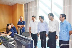Nỗ lực phát triển Đài PT-TH Nghệ An ngang tầm đài khu vực