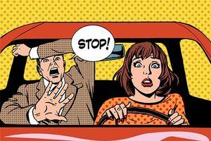 Làm thế nào để là người phụ nữ biết dừng ôtô thật 'đẹp'?