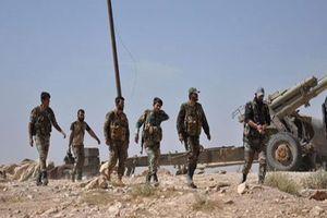 Quân đội Syria tấn công dữ dội trên vùng sa mạc Homs, IS đại bại