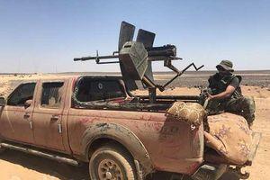 Quân đội Syria siết chặt vòng vây, quyết diệt sạch tay súng IS ở sa mạc đen