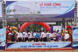 Trường Đại học Tôn Đức Thắng khởi công xây dựng cở sở An Giang