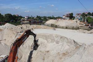 Bắc Giang và Bắc Ninh đang vét khoáng sản