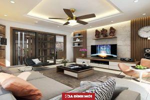 Mê mẩn với thiết kế nội thất căn hộ chung cư 80m2 phong cách hiện đại, sang trọng