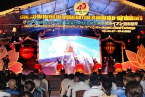 Quảng Nam: Giao lưu hữu nghị nhân dân Việt - Nhật