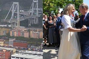 Cầu cao tốc Italy đổ sập, Tổng thống Putin tiếp tục gây 'bão' ở châu Âu