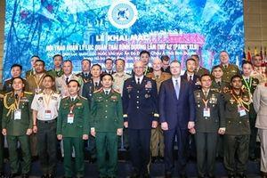 Lục quân 27 nước đến Hà Nội trao đổi kinh nghiệm ứng phó thảm họa, thiên tai