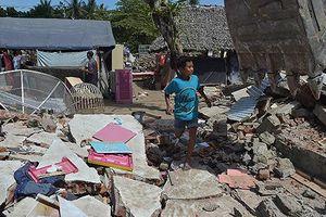 Trận động đất mới rung chuyển Indonesia làm 2 người thiệt mạng
