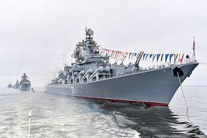 Hạm đội Thái Bình Dương của Nga tập trận bắn đạn thật tại Biển Okhotsk