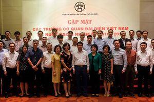 Thủ đô Hà Nội chính là hình ảnh của Việt Nam trong mắt bè bạn quốc tế