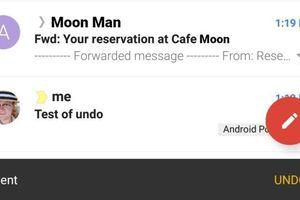 Gmail cập nhật tính năng hủy mail đã gửi trên ứng dụng Android