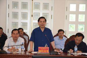 Bộ trưởng thị sát, phê bình các Ban quản lý đường Hồ Chí Minh và một số tuyến quốc lộ