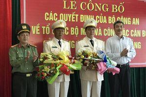 Công an Đà Nẵng có thêm 2 Phó Giám đốc