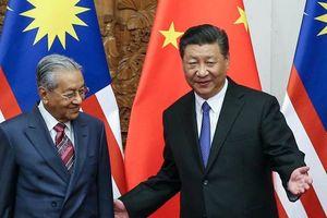 Malaysia hủy dự án hàng chục tỉ đô của Trung Quốc