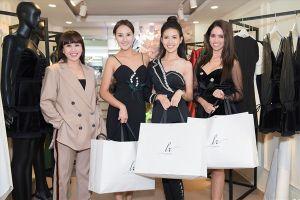 Phan Thị Mơ và các người đẹp quốc tế nhận quà 'độc' từ nhà thiết kế Hằng Nguyễn