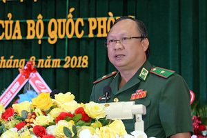 Đón nhận Bằng khen của Bộ trưởng Bộ Quốc phòng