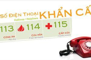 TP.HCM sẽ hợp nhất tổng đài 113, 114, 115 thành đầu số 114