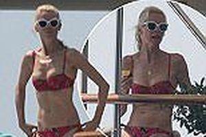 'Siêu mẫu huyền thoại' Claudia Schiffer khoe dáng trẻ đẹp ở tuổi 47