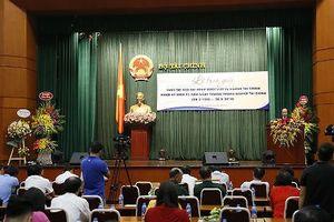 Báo Pháp luật Việt Nam đoạt giải Cuộc thi viết về ngành Tài chính