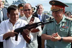 Tổng thống Philippines gay gắt đáp trả Mỹ cản đường mua vũ khí của Nga