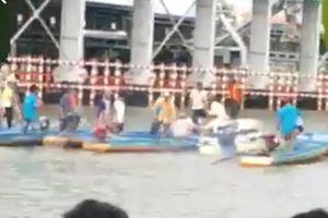 Đò chở công nhân bị chìm làm 1 người tử vong tại Cà Mau
