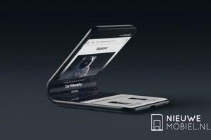 Galaxy X màn hình gập cực chất của Samsung