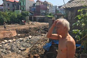 UBND huyện Gia Lâm chỉ đạo, làm rõ việc lún nứt nhà dân ở xã Phù Đổng