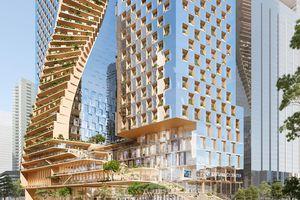 UNStudio Named chiến thắng cuộc thi Landmark Melbourne Skyscraper