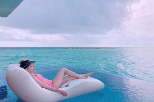 Bảo Thy khoe dáng gợi cảm tại 'thiên đường' Maldives