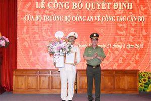 Thiếu tướng Nguyễn Hải Trung làm Giám đốc Công an tỉnh Thanh Hóa