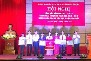 Huyện Sóc Sơn hoàn thành phổ cập THCS cấp độ 3