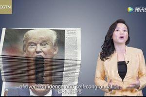 Truyền hình nhà nước Trung Quốc đăng video châm biếm TT Trump
