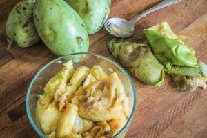 Thưởng thức đủ ba vị xoài, chuối, mãng cầu trong một loại quả Bắc Mỹ