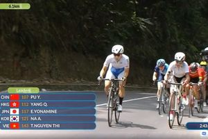 Thêm 'hy vọng vàng' xe đạp Nguyễn Thị Thật thất bại ở ASIAD 18