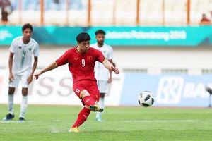Olympic Việt Nam tập đá penalty