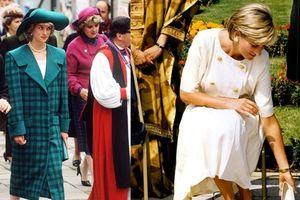 Sửng sốt với 5 bí mật thời trang của công nương Diana