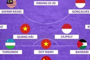 Đội hình tiêu biểu vòng bảng ASIAD 18: 3 ngôi sao Việt Nam góp mặt