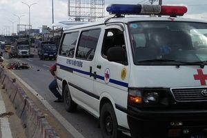 TP HCM: 2 người bị cán chết trong 2 vụ tai nạn cách nhau 100 m