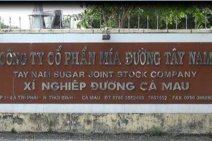 Sử dụng đất sai mục đích, Công ty cổ phần mía đường Tây Nam bị thu hồi đất