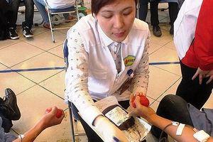 Dự trữ máu nhóm O còn cầm cự được vài ngày