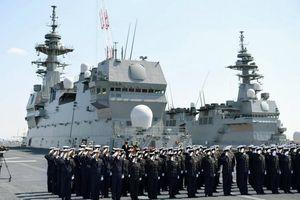Nhật sẽ điều 3 khu trục hạm đến Biển Đông