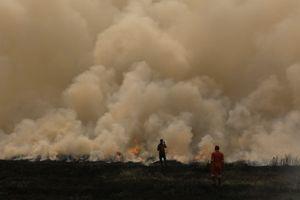 Cháy lớn sát địa điểm thi đấu ASIAD 18, vận động viên hú vía