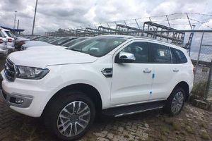Gần 1.000 xe Ford Ranger và Everest 2018 cập cảng Việt Nam, chuẩn bị ra mắt