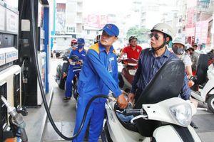 Giá xăng tiếp tục được giữ nguyên