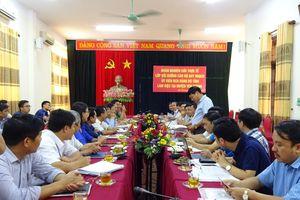 Đoàn cán bộ quy hoạch Ủy viên BCH Đảng bộ tỉnh nghiên cứu thực tế tại huyện Yên Thành