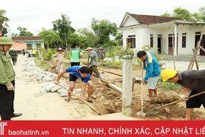 'Đổ' hơn 1 tỷ đồng, Thạch Sơn tăng tốc về đích nông thôn mới