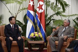 THX: Quan chức cấp cao của Triều Tiên đang ở thăm Cuba