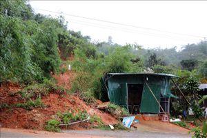 Ngày càng nhiều điểm sạt lở, nứt đồi lan tại huyện Tumơrông