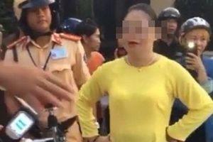 Đã xác định được danh tính người phụ nữ lăng mạ CSGT ở Bà Rịa-Vũng Tàu